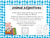 Classroom Adjectives Project