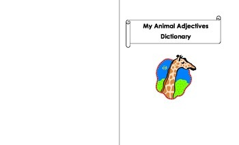 Animal Adjectives Dictionary