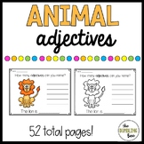 Animal Adjectives- No Prep!!