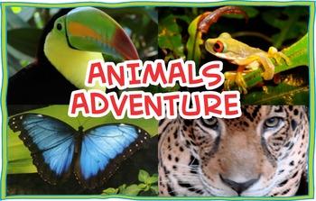 Animals Adventure Mini Book