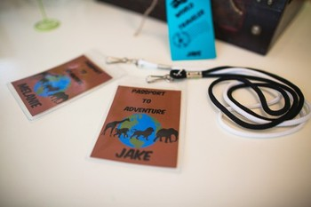 Classroom Decor Animal Adventure Passport Editable