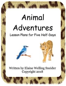 Animal Adventures Lesson Plans