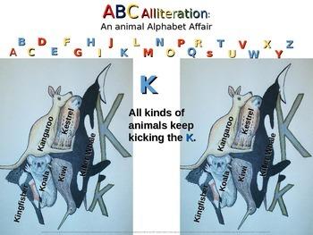 Animal Alphabet Alliteration - 26 original creations to inspire students