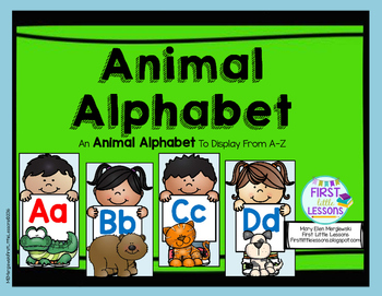 Animal Alphabet: An Animal Alphabet from A-Z
