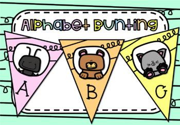 Animal Alphabet Bunting