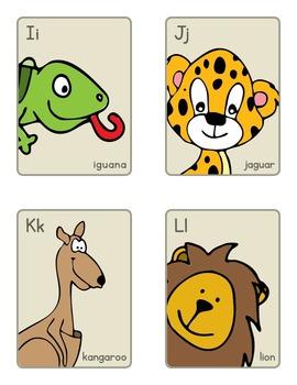 Animal Alphabet Cards
