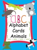 Animal Alphabet Cards (Word Wall Posters)