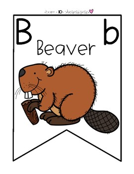 Animal Alphabet Chart