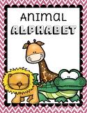 Zoo Animal Alphabet Classroom Poster Set - {Chevron}