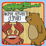 Animal Alphabet Clip Art
