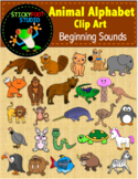 Animal Alphabet Clip Art - Beginning Sounds