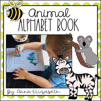 Animal Alphabet Book (Hand-Drawn Adorable Animals)
