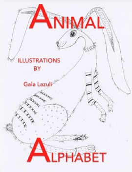 Animal Alphabet – Learn to Spell Coloring Book & Flashcards!
