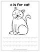 Handwriting Packet Lowercase {Animal Alphabet}