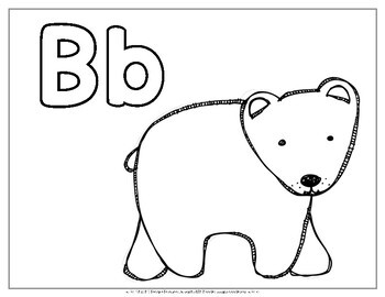 Alphabet Coloring Pages By Miss Ms Reading