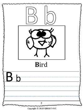 Animal Alphabet Coloring Workbook