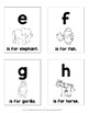 Flash Cards {Animal Alphabet}