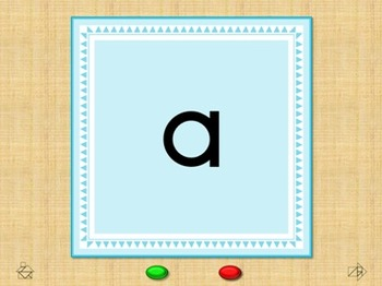 Tangram  Quiz - Animal Alphabet Flash Cards - Interactive PowerPoint