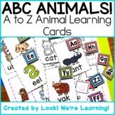 Alphabet Flashcards - Alphabet Animals!
