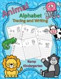 Animal Alphabet Letter Tracing and Writing No-Prep Printab