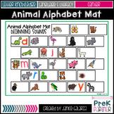Animal Alphabet Mats