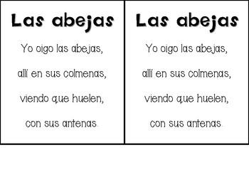 Animal Alphabet Poems in Spanish