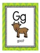 Alphabet Posters, Flash Cards, Games, Tracing 121 pages