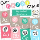 Stamped Animal Alphabet Posters   Our Happy Place Classroo