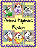 Animal Alphabet Posters (square)
