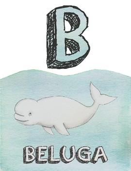Animal Alphabet Print Outs