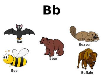 Animal Alphabet Printable