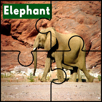 Animal Alphabet Printable Puzzles