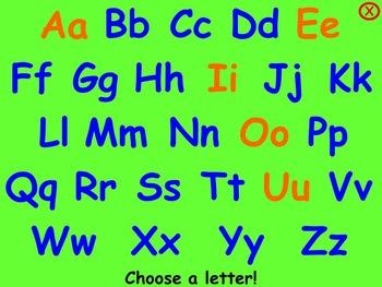 Animal Alphabet Sample
