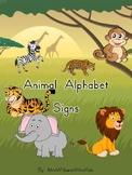 Animal Alphabet Signs