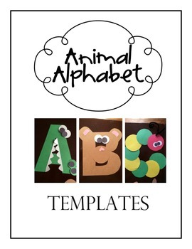 Animal Alphabet Template