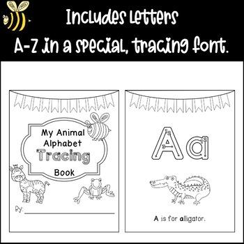 Animal Alphabet Tracing Book