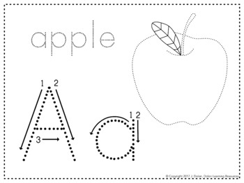 Alphabet Tracing and Coloring Worksheets