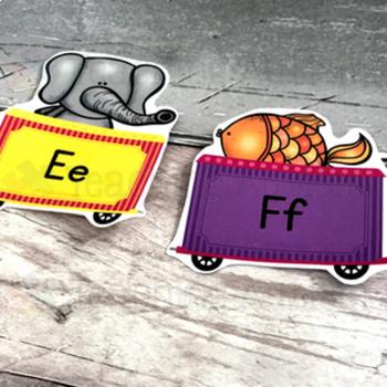 Alphabet Display Animal Train