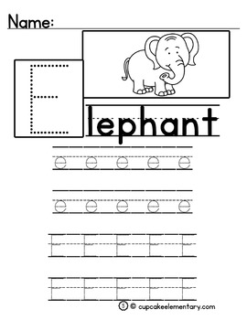 Animal Alphabet (Uppercase/Lowercase Alphabet Formation)