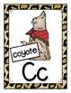 Animal Alphabet Wall Cards
