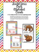 Animal Alphabet Wall Cards with Phonics Posters and Number
