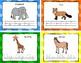 Animal Alphabet Writing Cards {FREEBIE}