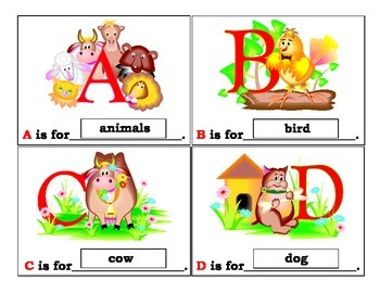 Animal Alphabet for Autism