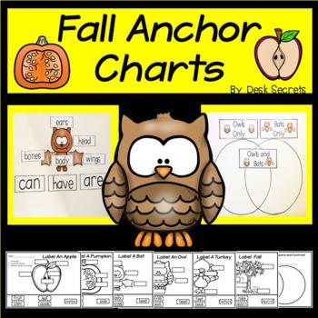 Animal Anchor Charts (Fall)
