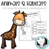 Engage New York ELA Domain 8: Animal & Habitats Worksheet