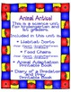 Animal Antics- A Science Intro to Habitats, Food Chains, A