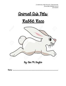 Animal Ark Pets - Rabbit Race Novel Study