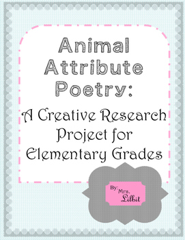 Animal Attribute Poetry