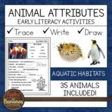 Animal Attributes Literacy Activities