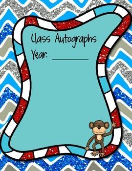 Animal Autograph Book